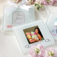Custom Birthday Photo Coaster Favors (Set of 12)