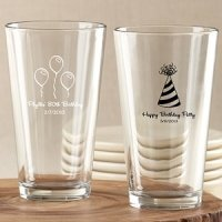 Personalized Birthday Favor Glasses