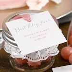 Rustic Vines Personalized Favor Tags