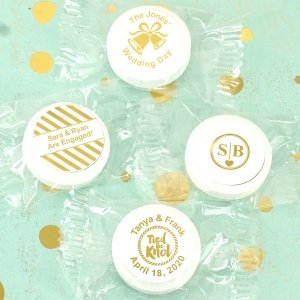 Metallic Foil Life Savers Mint Favors image