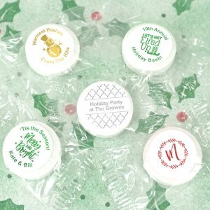 Holiday Metallic Foil Life Savers Mint Favors image