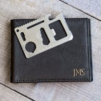 Personalized Wallet with Multi-Function Tool