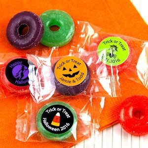 Halloween Designs Personalized Life Savers Candies image