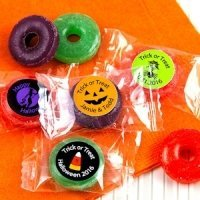 Halloween Designs Personalized Life Savers Candies