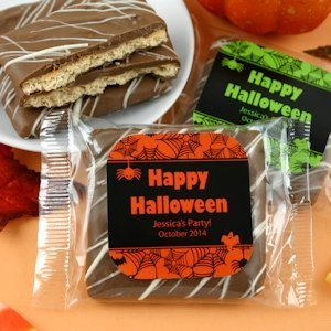 Chocolate Graham Cracker Halloween Favors image