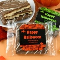 Chocolate Graham Cracker Halloween Favors