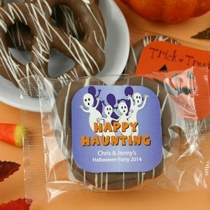 Halloween Gourmet Chocolate Pretzel Favors image
