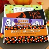 Personalized Halloween Hershey's Chocolate Bars