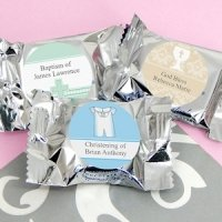 Personalized Baptism York Peppermint Patties
