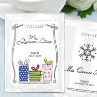 Hot Cocoa Personalized Mis Quince Anos Favors