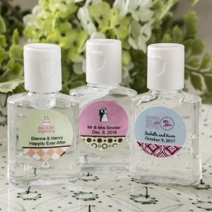 Personalized Expressions Hand Sanitizer Favors image