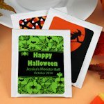 Personalized Halloween Tea Favors