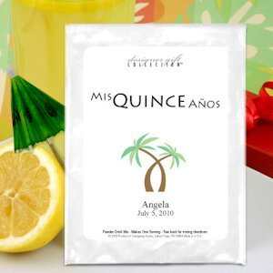 Personalized Quinceanera Lemonade Favors (19 Designs) image