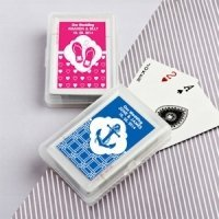 Simply Stylish Playing Card Favors