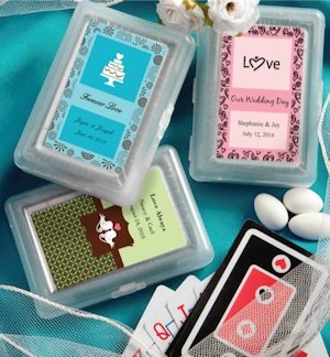 Custom Playing Card Wedding Party Favors image