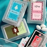 Custom Playing Card Wedding Party Favors