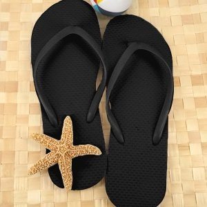 Wedding Black Flip Flop Favors (Set of 16) image