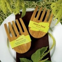 Eco-Friendly Hand in Hand Bamboo Servers