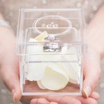 Monogram Simplicity Personalized Alternative Ring Box