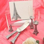 Eiffel Tower Wedding Day Accessory Collection