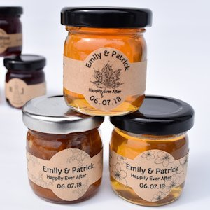 Apricot Ale Beer Jelly Wedding Favors image