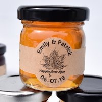 Apricot Ale Beer Jelly Wedding Favors