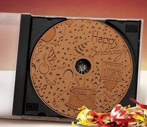 Milk Chocolate Happy Birthday CD (Case of 20) image