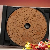 Milk Chocolate Happy Birthday CD (Case of 20)