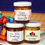 Personalized B-Day Honey Favors (50 Designs)