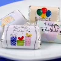 Personalized Birthday Mini Chocolates (50 Designs)