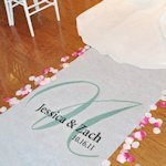 Personalized Wedding Runners - Elegance Design