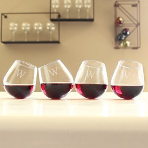 Tipsy Wine Glasses (Set of 4) image