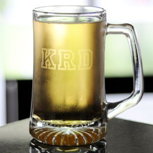 Personalized XXL Clear Glass Sports Mug image