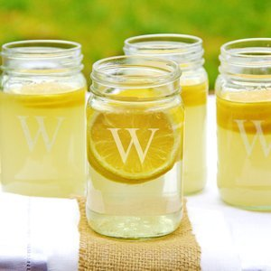 Personalized 16oz. Mason Jars (Set of 4) image