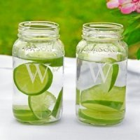 Personalized Mason Jars (Set of 2)
