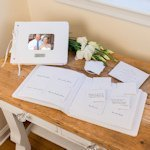 Sweet Memories Personalized Wedding Wishes Guest Book