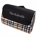 Personalized Tartan Plaid Tailgate Picnic Blanket