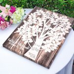 Our Family Tree Gallery Wrapped Canvas Guest Book