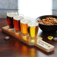 Custom Beer Flight Sampler