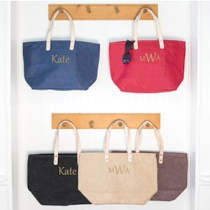 Personalized Nantucket Tote image