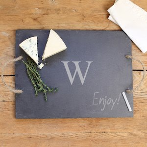 Personalized Slate Serving Board image