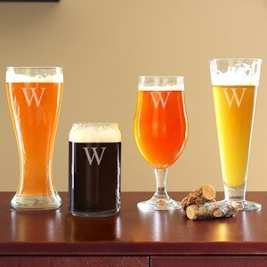 Personalized Specialty Beer Glasses (Set of 4) image