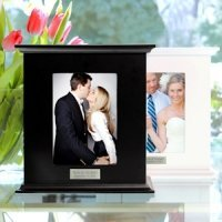 Reception Wedding Card Holder Photo Box (Black or White)