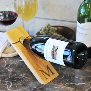 Counter Balance Personalized Wine Bottle Holder image