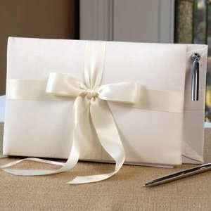 Tying the Knot Wedding Guest Book & Pen image