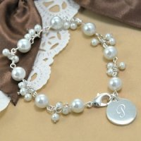Personalized Romantic Pearl Bracelet