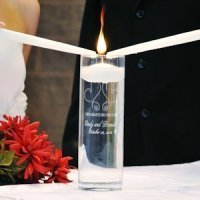 Whimsical Hearts Personalized Floating Unity Candles