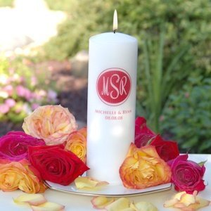 Color Monogram Unity Candle image