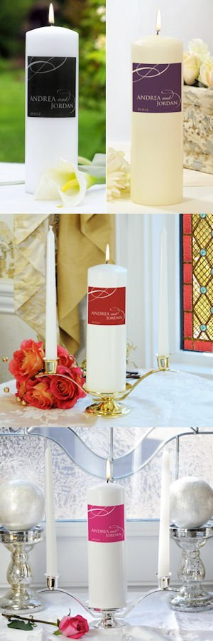 Color of Love Unity Candles image
