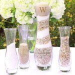 Personalized Hourglass Unity Sand Ceremony Kit